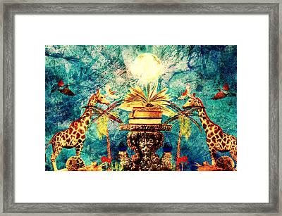 Near Reflections Framed Print