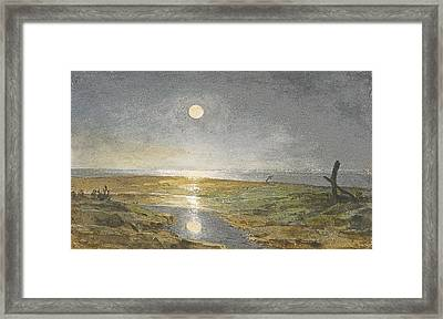 Near Southwick Framed Print by Celestial Images