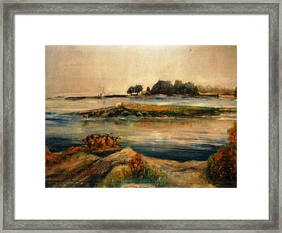 Near Stamford Framed Print