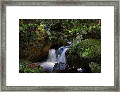 Framed Print featuring the photograph near the Brocken, Harz by Andreas Levi