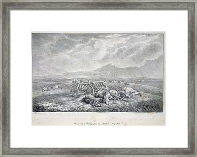 Near The Niemen Framed Print by British Library