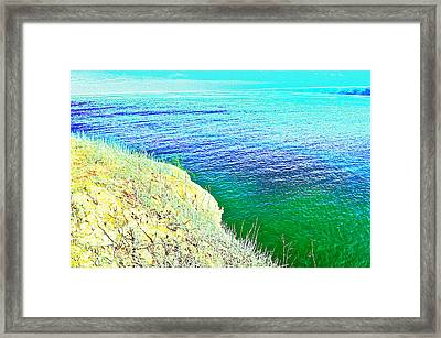 Near The Sea Framed Print