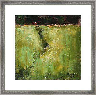 Near The Stream Framed Print by Anastasija Kraineva