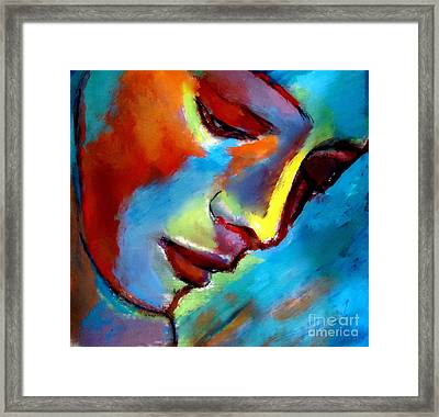 Near To The Heart Framed Print