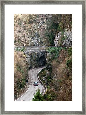Near Tremosine, Lago Di Garda Framed Print