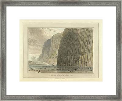 Near View Of One Of The Shiant Isles Framed Print by British Library