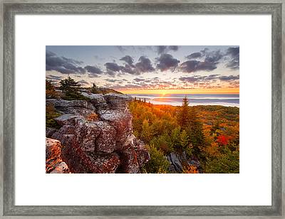 Framed Print featuring the photograph Near Wild Heaven by Bernard Chen