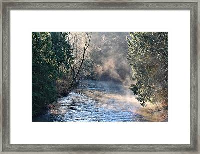 Nearer To Thee Framed Print by Rory Sagner