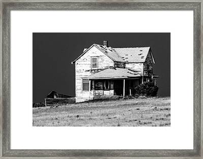 Nearly Gone Framed Print by Don Durfee