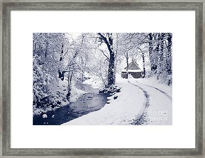 Framed Print featuring the photograph Nearly Home by Liz Leyden