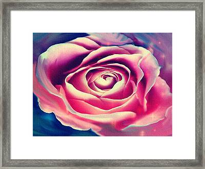 Nearly Red Framed Print by Dennis Buckman