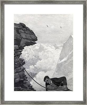 Nearly There Framed Print by Arthur Herbert Buckland