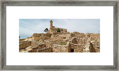 Nebi Samuel Tomb Of Samuel, Crusader Framed Print