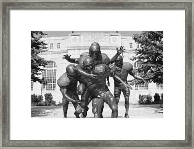 Nebraska Football Framed Print
