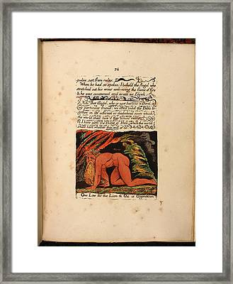 Nebuchadnezzar Framed Print by British Library