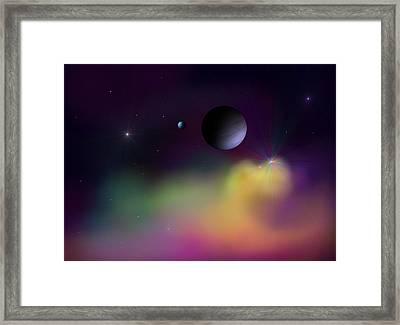 Nebula 2 Framed Print by Ricky Haug