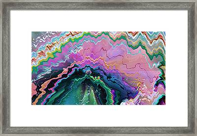 Framed Print featuring the mixed media Nebula by Carl Hunter