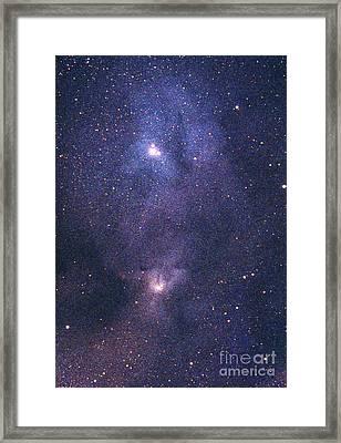 Nebula Ic4604 Framed Print by Chris Cook