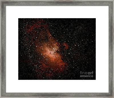 Nebula  M16 Framed Print