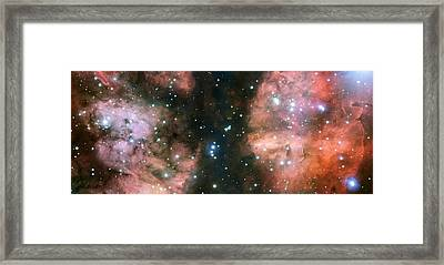 Nebula Ngc 6357 Framed Print