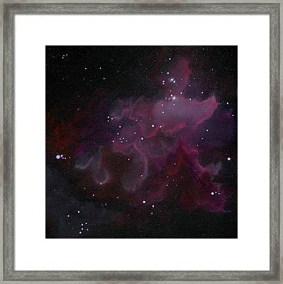 Nebula One Framed Print by Emily Magone
