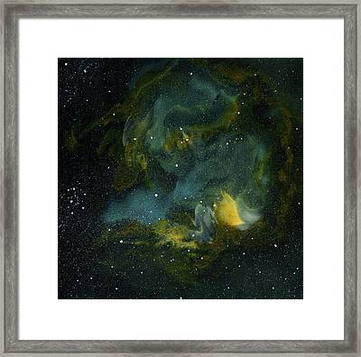 Nebula Two Framed Print by Emily Magone