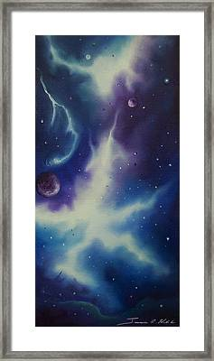 Nebulae Ngc -1014 Framed Print by James Christopher Hill