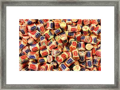 Necco Wafers Framed Print