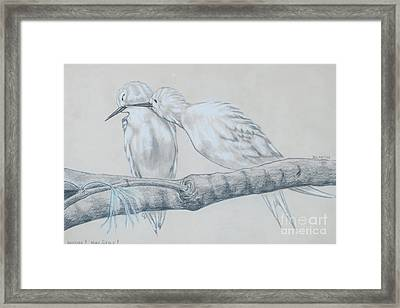 Necking High Style Framed Print by Blanch Paulin