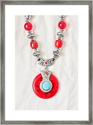 Necklace Framed Print