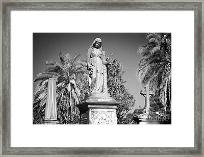Necropolis 02 Framed Print by Colin and Linda McKie