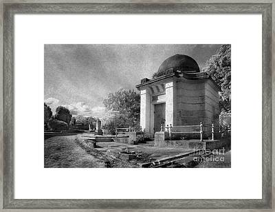 Necropolis 04 Framed Print by Colin and Linda McKie