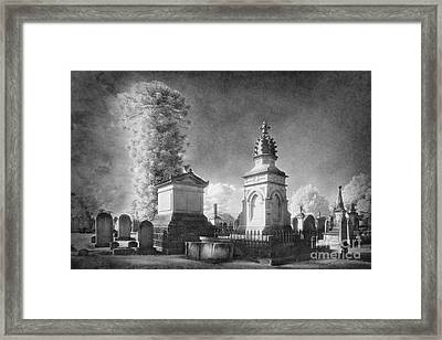 Necropolis 05 Framed Print by Colin and Linda McKie