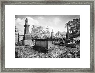 Necropolis 08 Framed Print by Colin and Linda McKie