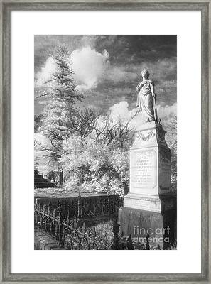 Necropolis 09 Framed Print by Colin and Linda McKie