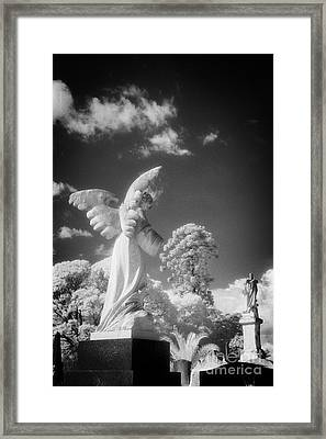 Necropolis 10 Framed Print by Colin and Linda McKie