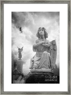 Necropolis 11 Framed Print by Colin and Linda McKie