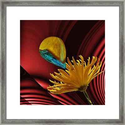 Nectar Of The Gods Framed Print by Barbara St Jean