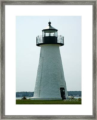 Ned's Point Lighthouse Framed Print
