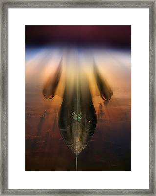 Need For Speed 2 Framed Print by Peter Chilelli