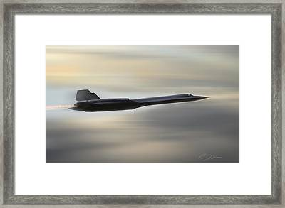 Need For Speed 3 Framed Print by Peter Chilelli