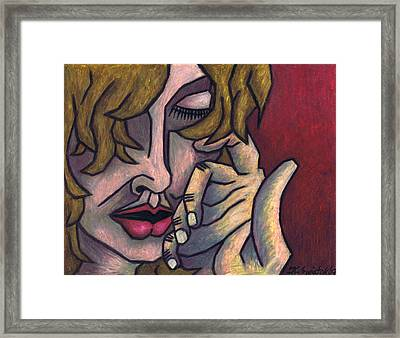 Need To Feel Loved Framed Print by Kamil Swiatek