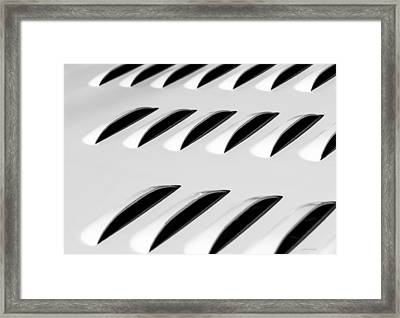 Need To Vent - Abstract Framed Print