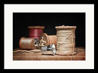 Thread Art Framed Prints