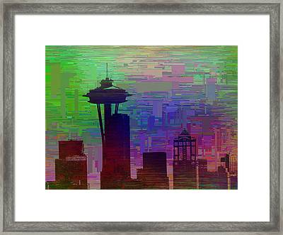 Needle Cubed 2 Framed Print by Tim Allen
