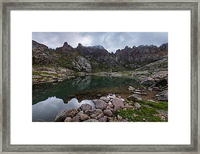Needle Mountains Framed Print by Aaron Spong