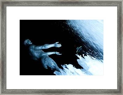 Needle Rising Framed Print