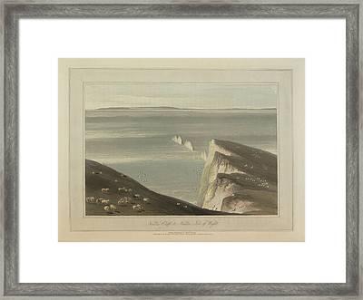 Needles Cliff Framed Print