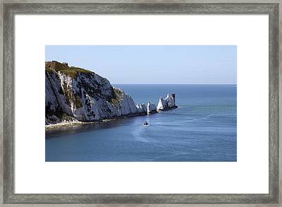 Needle's Isle Of Wight Framed Print
