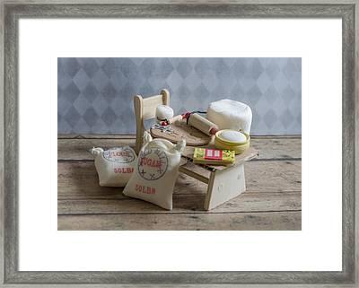 Needs More Sugar Framed Print by Heather Applegate